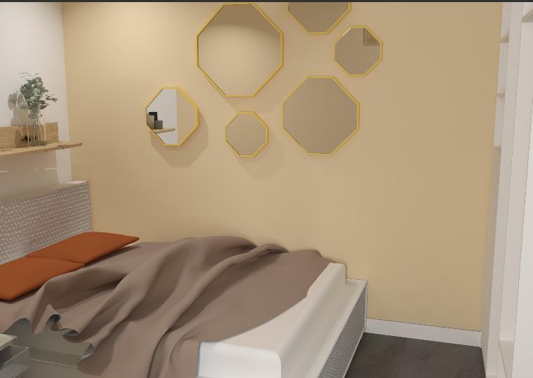 chambre 3D rénovation